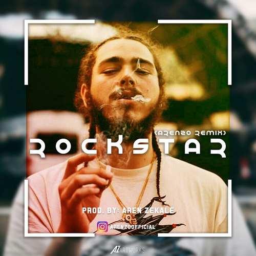 دانلود آهنگ جدید پست مالون راکستار ( ارنزو ریمیکس)